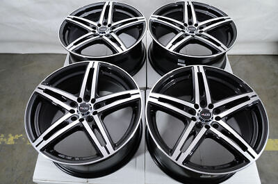 17 Black Wheels Fits Lincoln Mks Mkt Mkx Acura Tsx Rsx Tlx Ilx Mdx Rdx Tl Rims