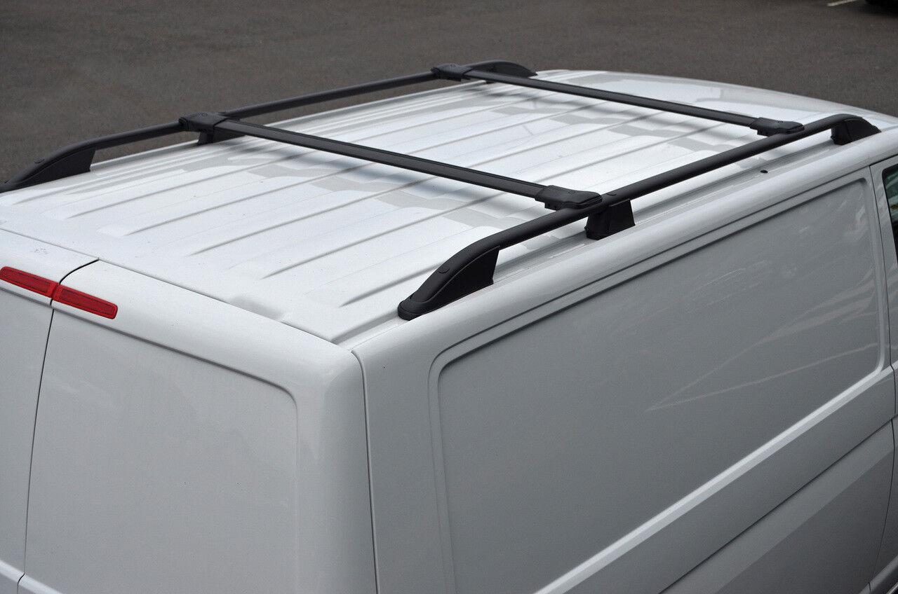 2008+ Black Cross Bar Rail Set To Fit Roof Side Bars To Fit Peugeot Bipper