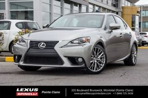 2014 Lexus IS 250 PREMIUM AWD,HEATED AND VENTILATED SEATS
