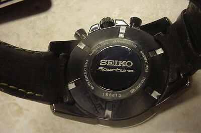 70f88a1b3 Scope the right price for your MENS SEIKO SPORTURA CHRONOGRAPH WATCH ...