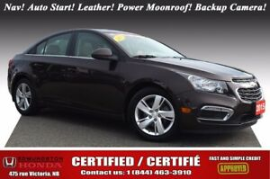 2015 Chevrolet Cruze Diesel Turbo Diesel! Nav! Auto Start! Leath