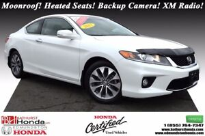 2013 Honda Accord Coupe EX Power Moonroof! Heated Seats! Backup