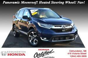 2017 Honda CR-V Touring - AWD Panoramic Moonroof! Hands-Free Acc