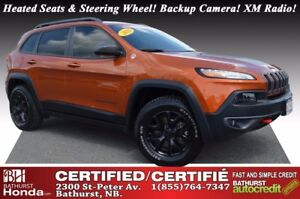 2016 Jeep Cherokee Trailhawk 4WD! Off-road Suspension! Skid Plat
