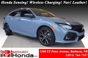 2018 Honda Civic Hatchback SPORT TOURING Add-on Skirt Package! H
