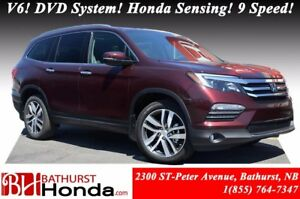 2017 Honda Pilot TOURING 9 Speed! Navigation! Leather! Heated an