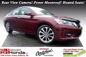 2015 Honda Accord Sedan SPORT Honda Certified! Rear View Camera!