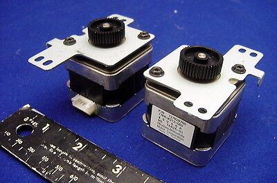 Two New Precision Hybrid 1.8 Deg. 4.9v Steppers From Minebea - Model 17pm-k312