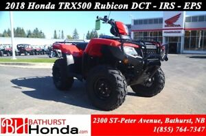 2018 Honda TRX500 Rubicon DCT-EPS-IRS Dual-Clutch Transmission!