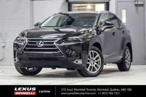 2015 Lexus NX 200t LUXE AWD; CUIR TOIT GPS ANGLES MORTS GPS - HE