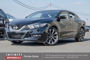 """2017 Nissan Maxima SR NAVIGATION LEATHER/SUEDE 19"""""""" MAGS LOW KM"""