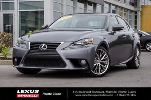 2014 Lexus IS 250 PREMIUM AWD CUIR ET TOIT VERY CLEAN