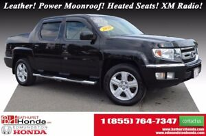 2010 Honda Ridgeline EX-L Leather! Power Moonroof! Heated Seats!