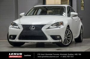 2015 Lexus IS 250 PREMIUM AWD; CUIR TOIT CAMERA NEW ARRIVAL