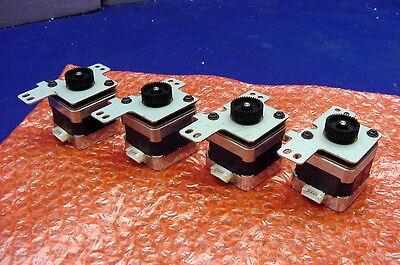 Four New Precision Hybrid 1.8 Deg. 4.9v Steppers From Minebea - Model 17pm-k312