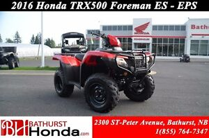 2016 Honda TRX500 ES - EPS Electric Shift! Electronic Power Stee
