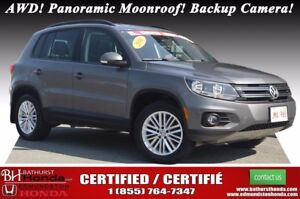 2016 Volkswagen Tiguan Special Edition AWD! Panoramic Moonroof!