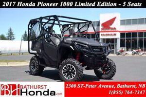 2017 Honda Pioneer 1000 Limited Edition - 5 seats LIMTED EDITION