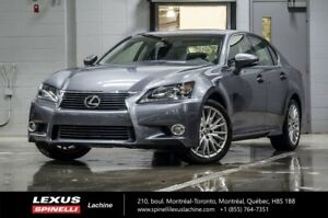 2013 Lexus GS 350 TECH PLUS AWD; CUIR TOIT GPS AUDIO ANGLES MORT