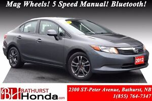 2012 Honda Civic Sedan LX New Brakes! Mag Wheels! 5 speed Manual