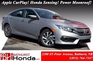 2018 Honda Civic Sedan EX Winter Tires! Honda Sensing! Power Moo