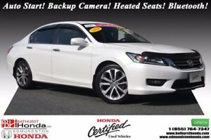 2014 Honda Accord Sedan SPORT Honda Certified! 6 Speed Manual! A