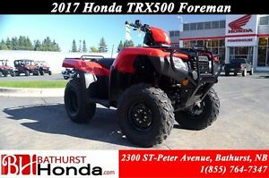 2017 Honda TRX500 Foreman Manual Foot Shift! Quick start! Powerf