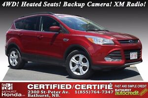 2014 Ford Escape SE - 4WD 4WD! Heated Seats! Backup Camera!