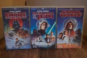Star Wars Trilogy VHS Vintage Collection Fremantle Fremantle Area Preview
