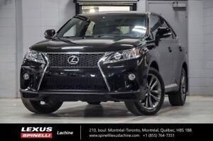 2013 Lexus RX 350 F SPORT AWD; CUIR TOIT GPS IMPECCABLE CONDITIO