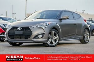 2014 Hyundai Veloster 1.6 TURBO TECH MATT GREY / NAVIGATION / VE