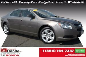 2011 Chevrolet Malibu LS LOW PRICE! OnStar with Turn-by-Turn Nav