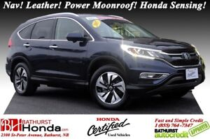 2015 Honda CR-V Touring - AWD New Tires! Nav! Leather! Power Moo