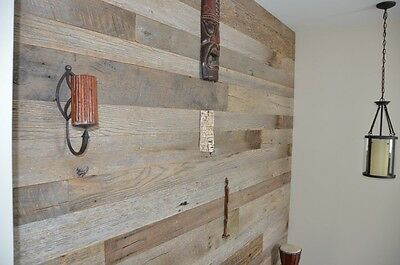 Reclaimed Barnwood - Lumber, Wood, Board, Shiplap Paneling - Milled - Gray/Brown