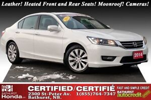 2014 Honda Accord Sedan EX-L New Tires & Brakes! Leather! Heated
