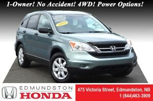 2011 Honda CR-V LX - 4WD LOW PRICE! 1-Owner! No Accident! 4WD! P