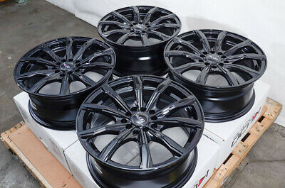 "16"" Wheels Rims Black Fits Honda Accord Civic Prelude Kia Soul Scion tC xB iM xD"