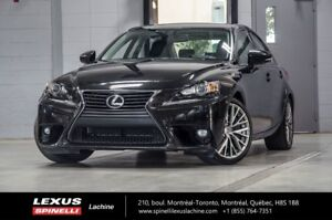 2016 Lexus IS 300 LUXE AWD: CUIR TOIT GPS GPS - BLIND SPOT MONIT