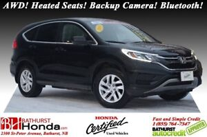 2015 Honda CR-V SE AWD! Heated Seats! Backup Camera! Bluetooth!