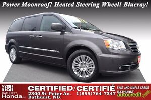 2015 Chrysler Town & Country Premium Certified! 7 Passengers! Po