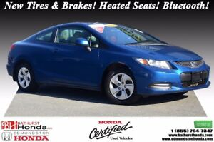 2013 Honda Civic Coupe LX New Tires & Brakes! 5 Speed Manual! He