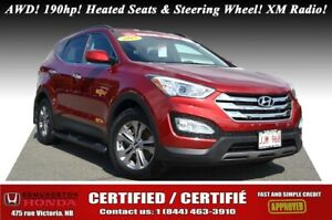 2015 Hyundai Santa Fe Sport Premium - AWD AWD! 190hp! Heated Sea