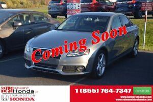 2010 Audi A4 2.0T Premium - AWD 211hp! AWD! Heated Leather Seat