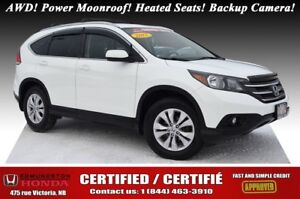 2012 Honda CR-V EX AWD! Power Moonroof! Heated Seats! Backup Cam