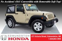 2011 Jeep Wrangler SPORT No Accident! 4X4! Convertible with Remo