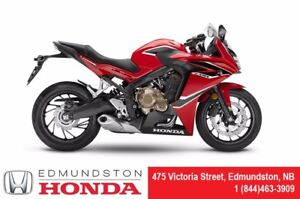 2018 Honda CBR650FAE ABS! Top-End Performance! Stable & Compact