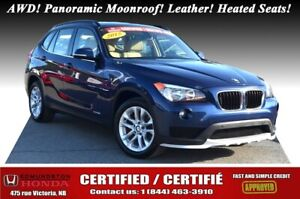 2015 BMW X1 XDrive28i xDrive AWD! Panoramic Moonroof! Leather!