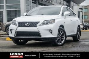 2015 Lexus RX 350 FSPORT NAVIGATION IMPECCABLE,MUST SEE,FULLY EQ