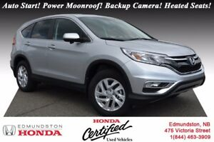2016 Honda CR-V EX AWD! Auto Start! Push Start! Power Moonroof!