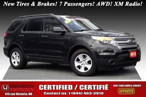 2013 Ford Explorer AWD Certified! New Tires & Brakes! 7 Passenge